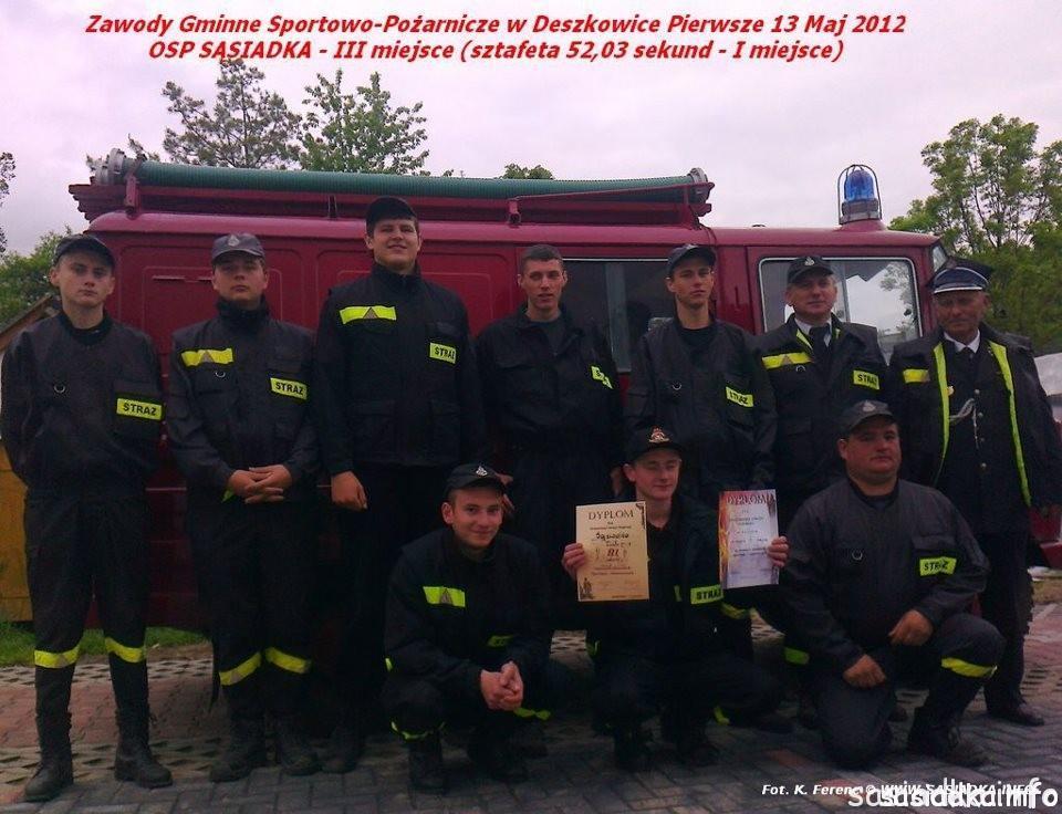 Osp Sąsiadka 2012