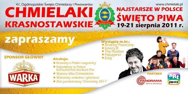 Chmielaki 2011 – Święto Piwa w Krasnymstawie 19-21.08.2011