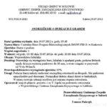 Ostrzeżenie Burzowe Lubelszczyzny-Sułów