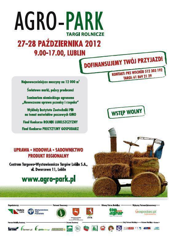 Targi Rolnicze AGRO-PARK Lublin 2012