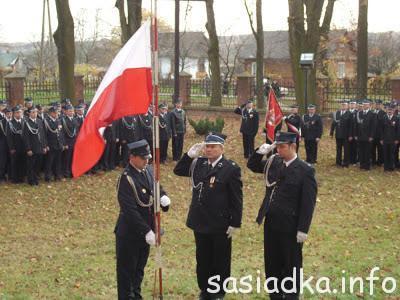 95 rocznica OSP Mokrelipie i obchody 94 Narodowego Święta Niepodległości