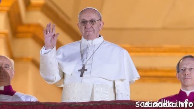 Mewa symbol Papieża Franciszka I