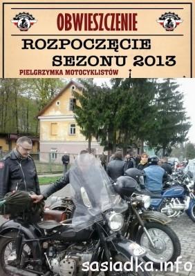 Rozpoczęcie sezonu motocyklistów 2013