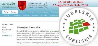 Pomóżmy wsi Zaraszów w głosowaniu
