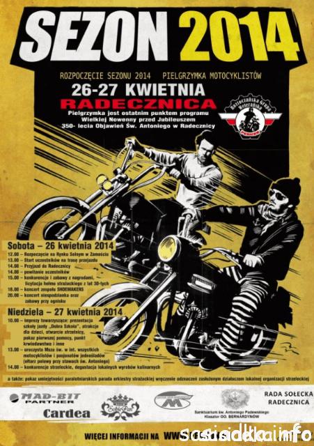 Motocykle Świętego Antoniego w Radecznicy