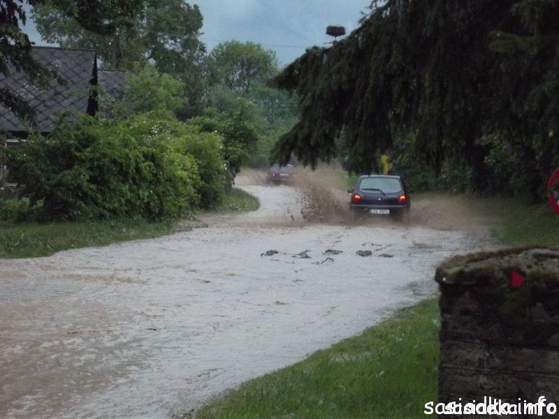 Powódź stulecia w Sąsiadce maj 2014