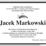 Ostatnie pożegnanie Jacka i Mariusza