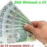 Złóż wniosek LGD o 25 tys złoty