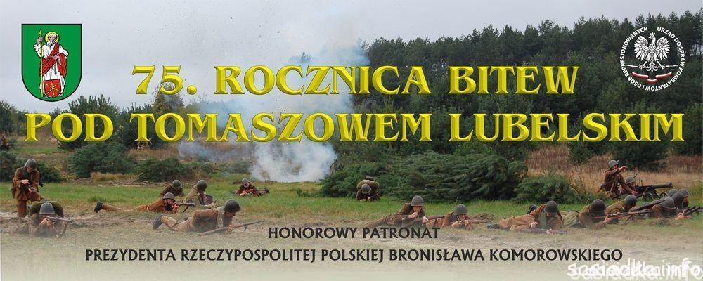 75 rocznica bitwy pod Tomaszowem