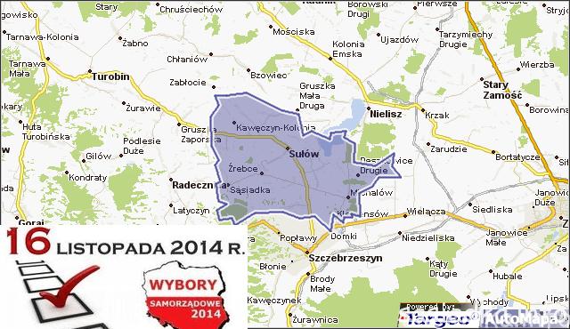Kandydaci do rady gminy Sułów