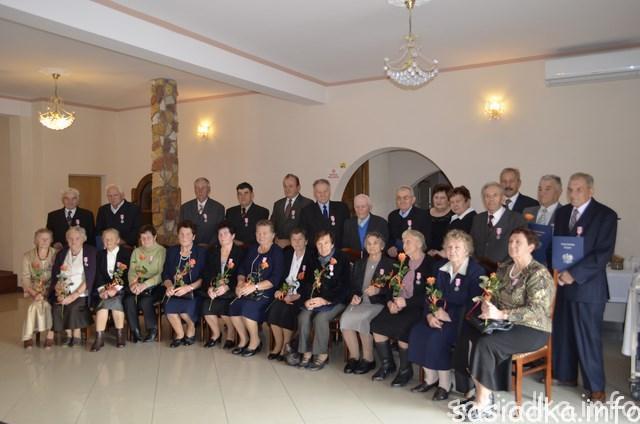 Złote gody małżeńskie w gminie Sułów