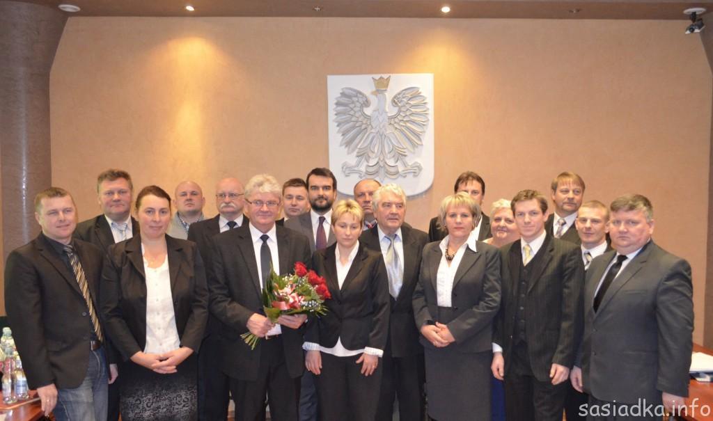 Nowy wójt i rada gminy Sułów 2014-2018
