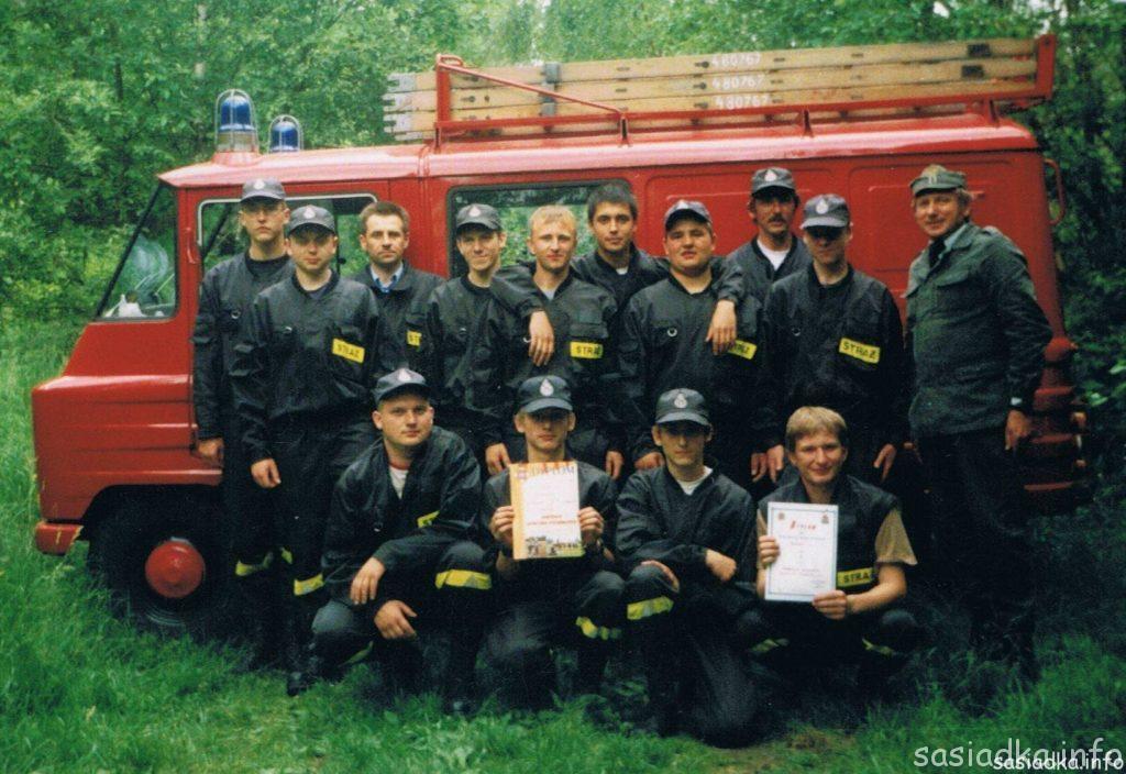 Gminne zawody strażackie w Deszkowicach 1