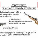 Otwarte zawody strzeleckie w Sułowcu