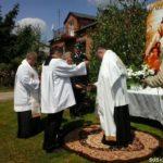 Boże Ciało w parafii Mokrelipie