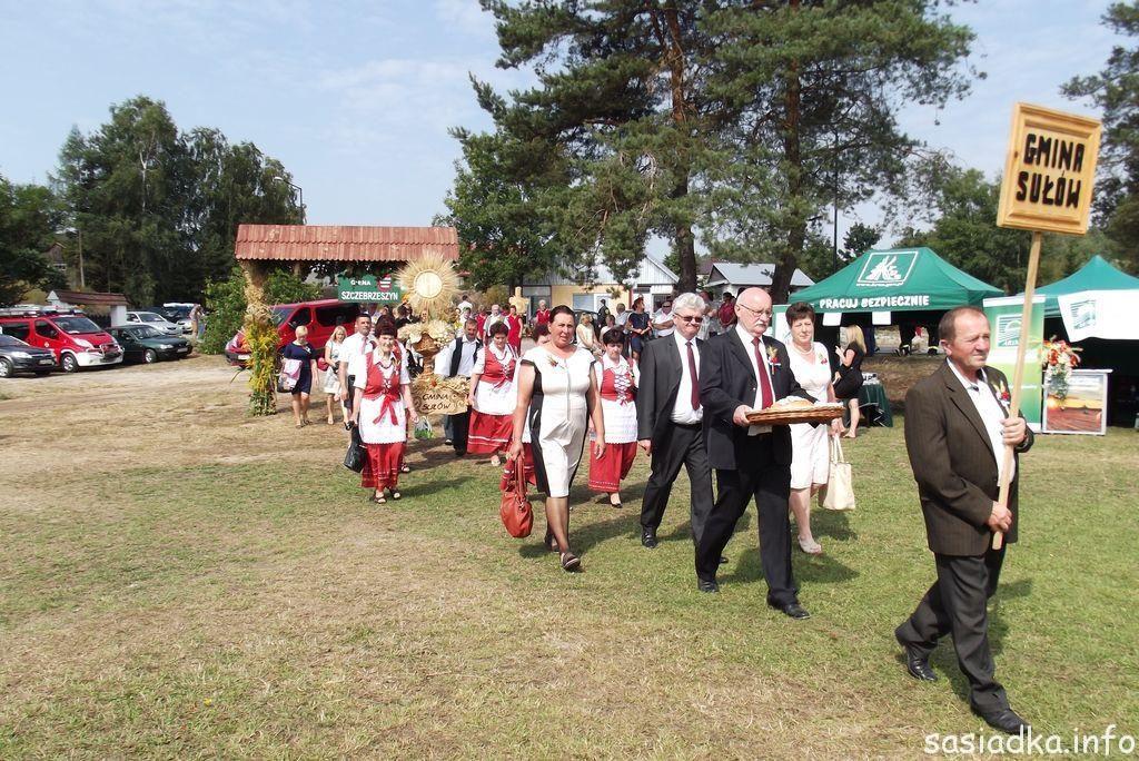 Gmina Sułów na dożynkach 2015 w Jacni