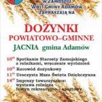 Dożynki powiatu zamojskiego w Jacni