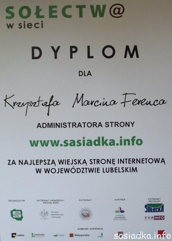 Dyplom RP 2013