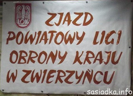 Powiatowy Zjazd LOK w Zwierzyńcu