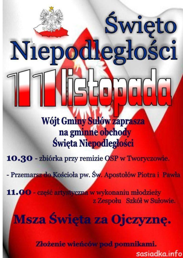 Gminne Święto Niepodległości 11 listopada 2015