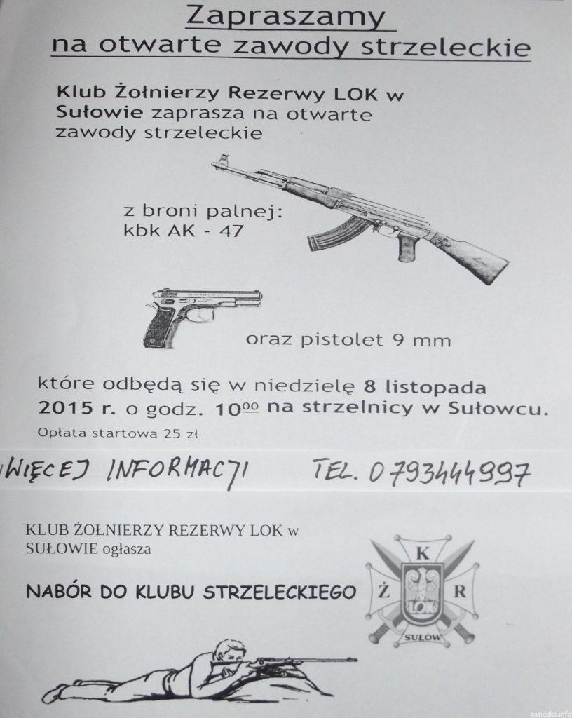 Zawody strzeleckie z kbk ak-47