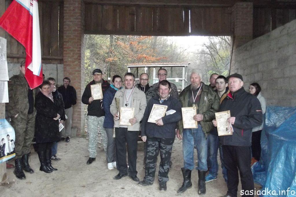 Wyniki zawodów strzeleckich o Puchar Sołtysa