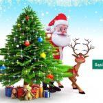 Wiejska Choinka z Mikołajem w Sąsiadce