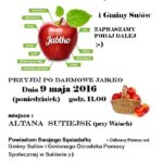 Darmowe jabłka dla mieszkańca gminy Sułów