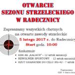 Otwarcie sezonu strzeleckiego 2017 w Radecznicy
