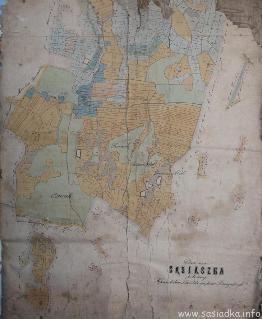 Wydarzenia historyczne wsi Sąsiadka od 7 wieku