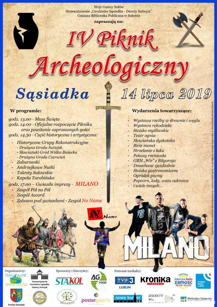 4 piknik archeologiczny już 14 lipca 2019