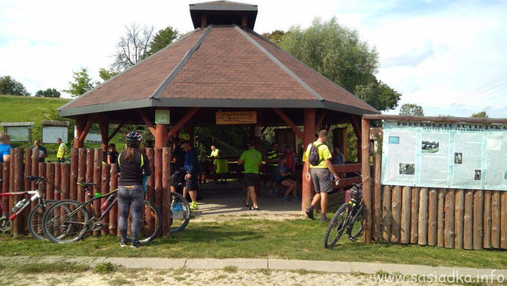 12 rajd rowerowy Zastrzębia Zdebrz z przystankiem w Mpr Altana Sutiejsk